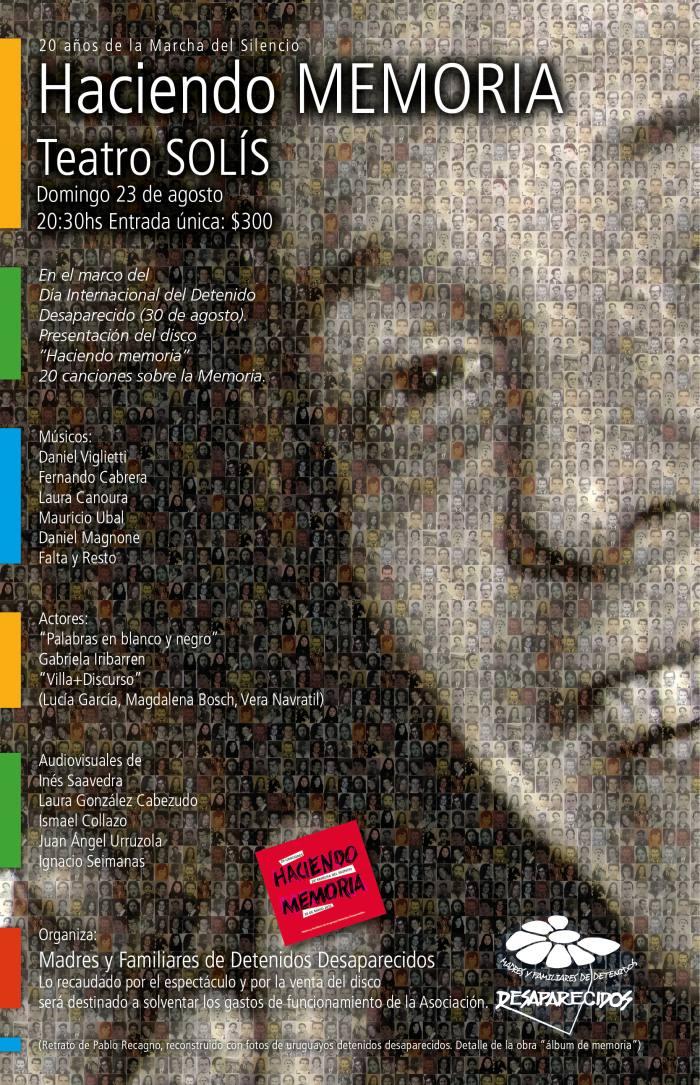 Afiche HACIENDO MEMORIA2